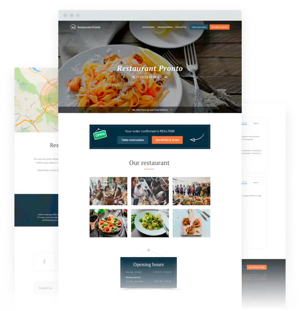 Online Restaurant Services | Sell Food Online
