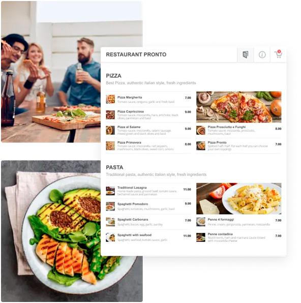 Restaurant Online Food Services | Receive Online Orders